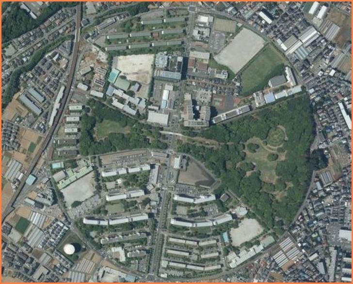 空から見ると円形の街(千葉県船橋市行田)が『ナニコレ珍百景』で紹介
