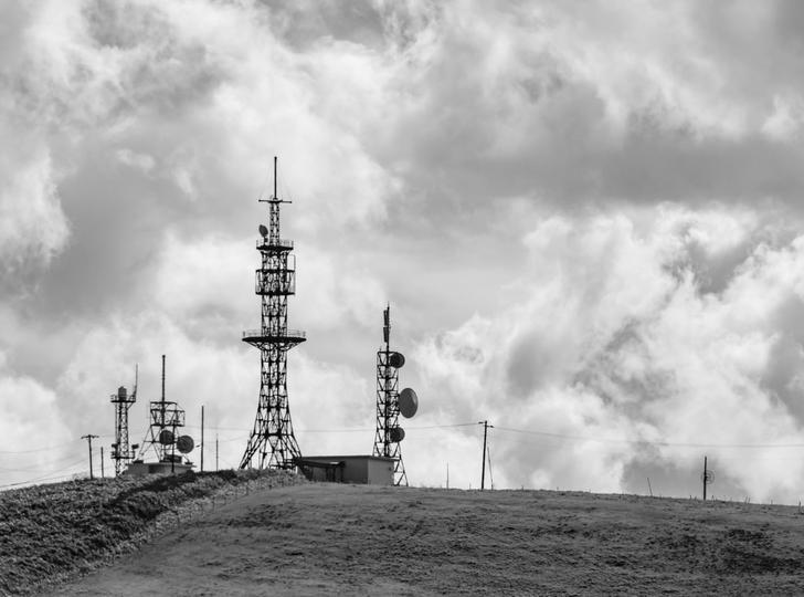 円形の街の正体「海軍無線電信所船橋送信所」跡