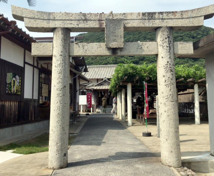 宝くじが当たると噂の「宝当神社(佐賀唐津沖・高島)」
