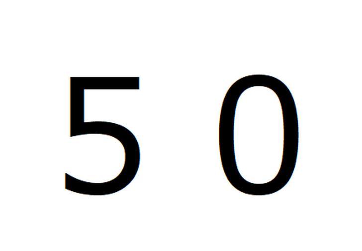 山の斜面にある謎の文字「50」(鹿児島県)が『世界の何だコレ!?ミステリー』で紹介