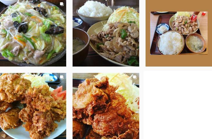 ひだまり食堂(茨城県神栖市)ハーフと普通盛りがほぼ同じ量の店
