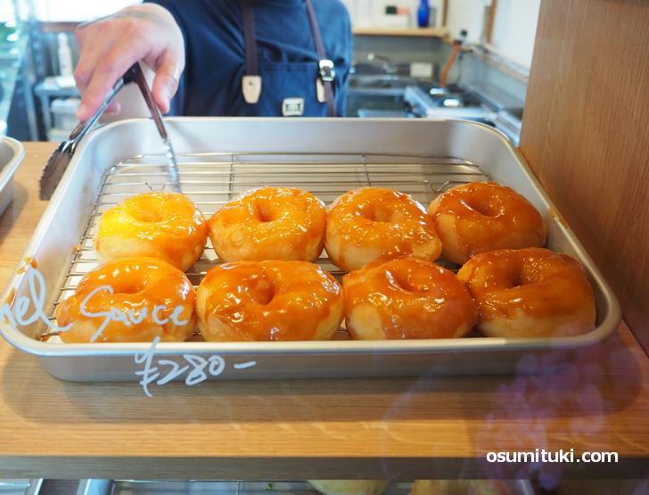 ドーナツがものすごく美味しいお店でした(Groove Doughnuts)