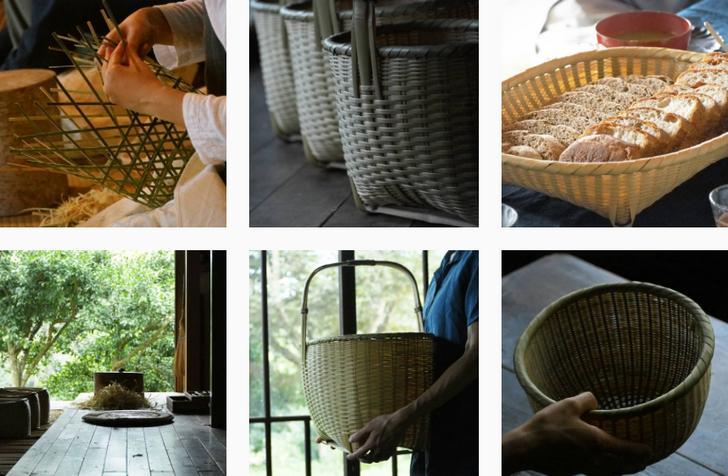 竹細工のある生活(インスタグラム)