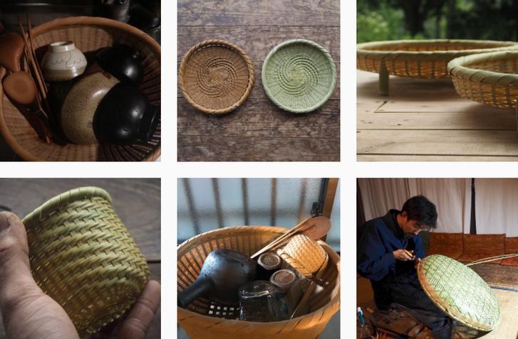 伍竹庵(栃木県芳賀郡茂木町)の竹細工