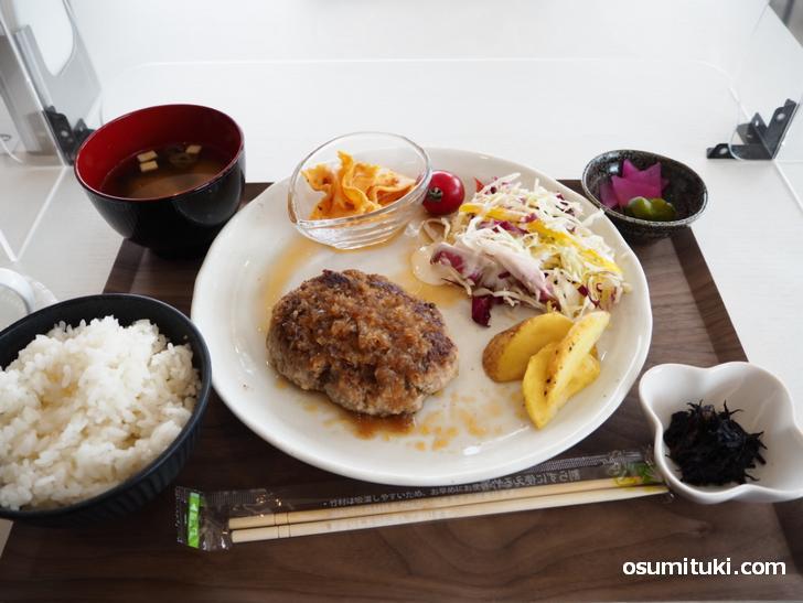 OHANAハンバーグ(780円)