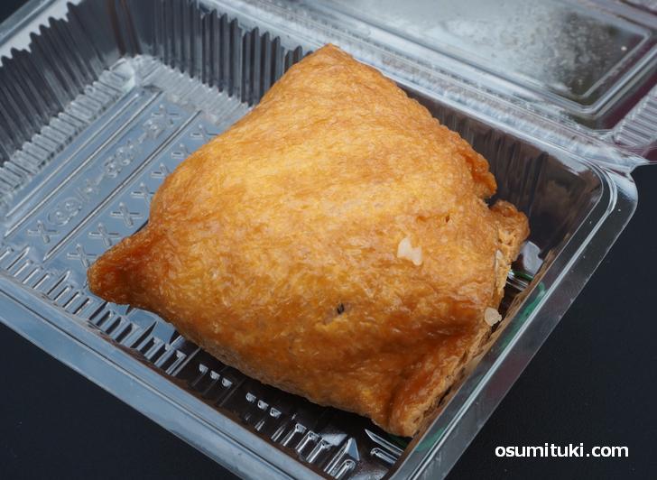 大きすぎるジャンボいなり(91円)