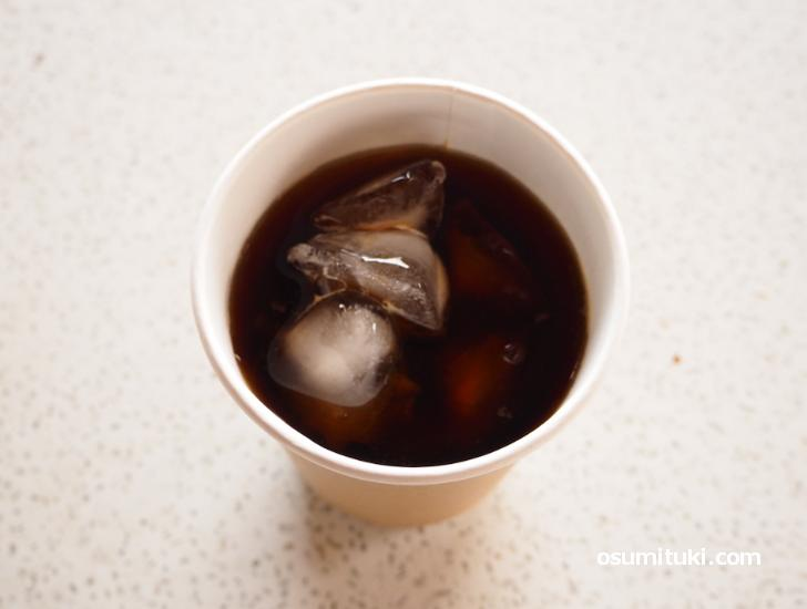 コーヒーは東京の焙煎所のもので赤ワインのようなフルーティーな香りが特徴