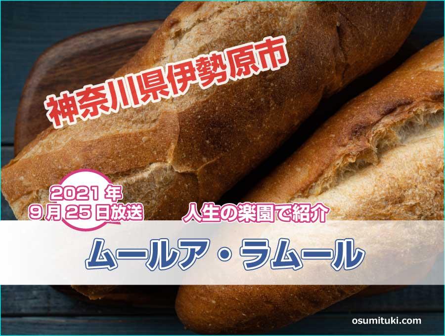 神奈川県伊勢原市の湘南小麦で作るバゲット【満天☆青空レストラン】で紹介