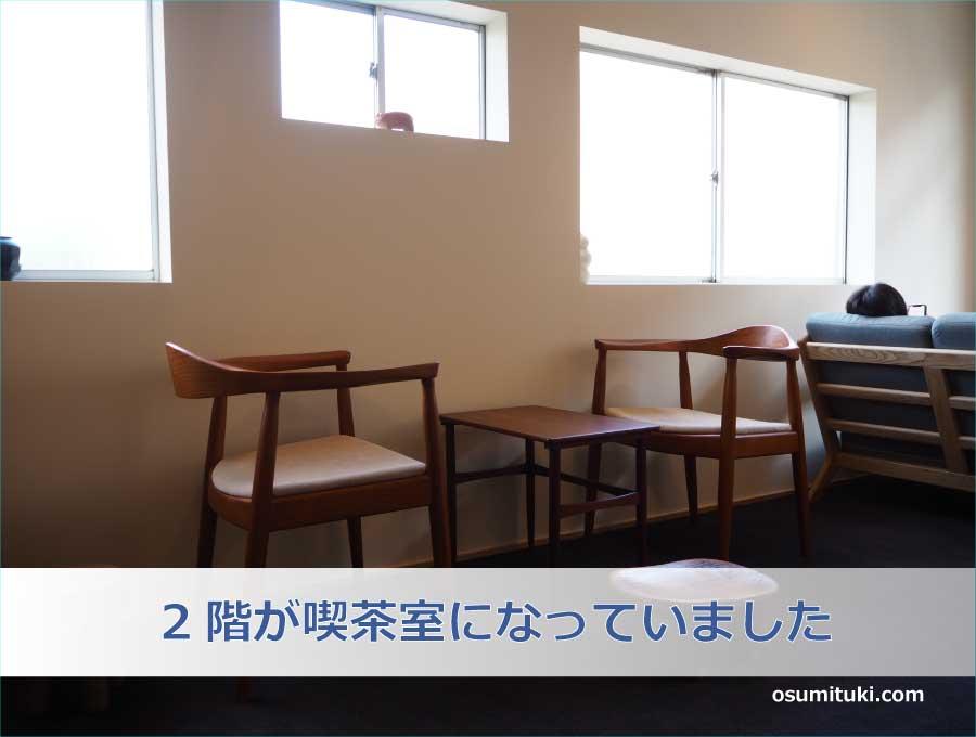 2階が喫茶室になっていました