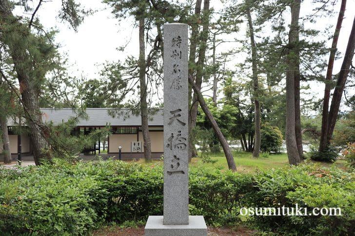 特別名勝「天橋立」の石碑